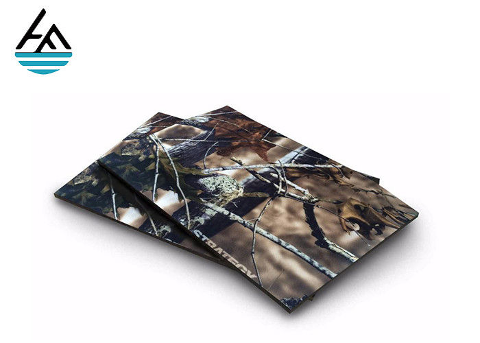 Camouflage Neoprene Fabric Sheets Printing Coated Neoprene Bed Sheets